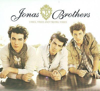 CD ONLY (ARTWORK/DIGIPAK MISSING) Jonas Brothers: Lines, Vines and Trying Times