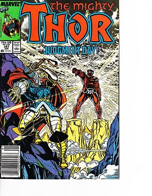 Thor #387 vs Celestial! Newstand Edition FREE SHIPPING AVAILABLE!