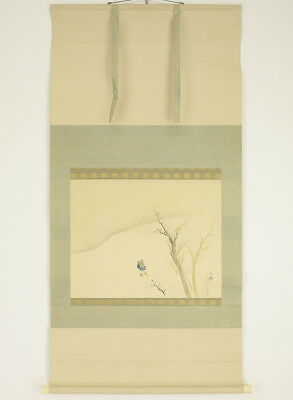 "Japanese Hanging Scroll : SHORYU ""Snow Scenery""  @g952"