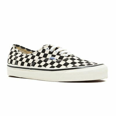 Vans Unisex Authentic 44 DX Anaheim Factory Black White Checkerboard  VN0A38ENOAK da4a31a29