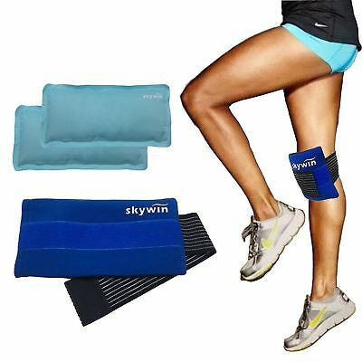 Reusable Ice Pack Knee Gel Wrap Hot & Cold Therapy Pain Relief Sport Arthritis