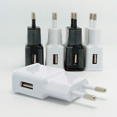 For Samsung Phone Wall Charger Adapter 5V 1A USB Port EU Plug Portable Mini