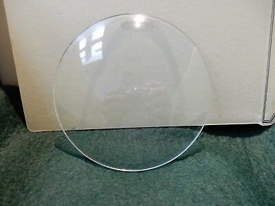 CONVEX CLOCK GLASS ANTIQUE  DIAMETER 119 mm   REPLACE THAT BROKEN DAMAGED A3