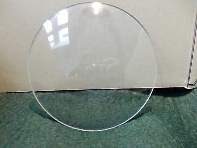 CONVEX CLOCK GLASS ANTIQUE  DIAMETER 112 mm   REPLACE THAT BROKEN DAMAGED A4