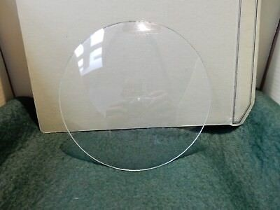 CONVEX CLOCK GLASS ANTIQUE  DIAMETER 139 mm   REPLACE THAT BROKEN DAMAGED A5
