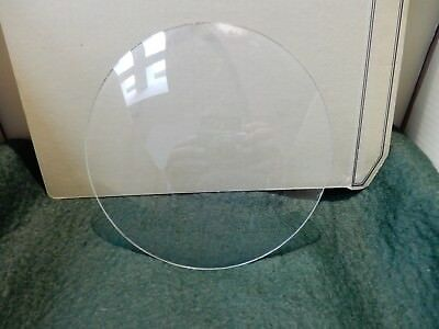 CONVEX CLOCK GLASS ANTIQUE  DIAMETER 139 mm   REPLACE THAT BROKEN DAMAGED A6
