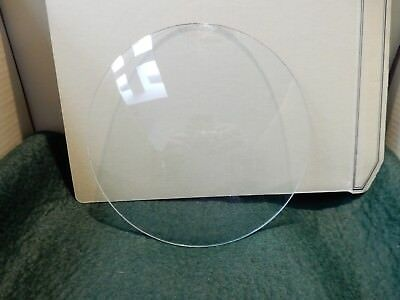 CONVEX CLOCK GLASS ANTIQUE  DIAMETER 147 mm   REPLACE THAT BROKEN DAMAGED A9