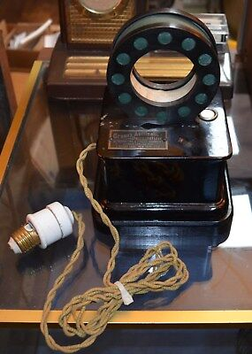 Antique Electric Green's Automatic Demagnetizer 1920s Early Art Deco Quack