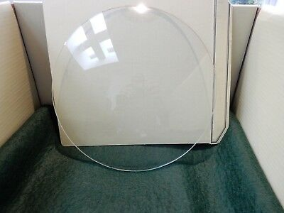 CONVEX CLOCK GLASS ANTIQUE  DIAMETER 200mm   REPLACE THAT BROKEN DAMAGED b2