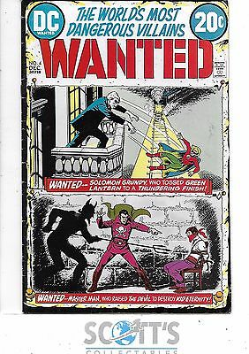Wanted  #4  VG