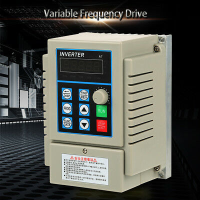 Single To 3-Phase Motor Governor Variable Frequency Drive Inverter CNC 220/380V