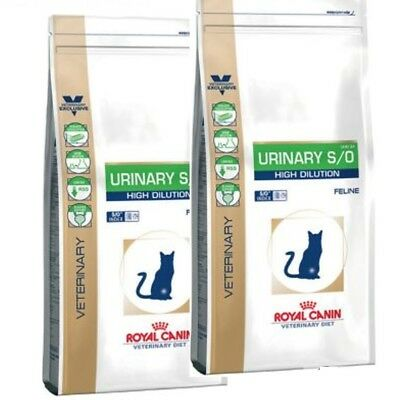 2x 7kg ROYAL CANIN Urinary S/O High Dilution UHD 34  BLITZVERSAND TOP Bravam