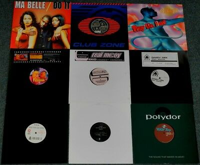 "15 x 12"" EURO-DANCE/ EURO-HOUSE (CAPTAIN JACK/ REAL MCCOY /2 RAFF)**S#13 (09/17)"