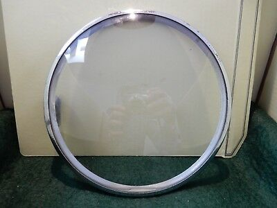 CONVEX CLOCK GLASS ANTIQUE  DIAMETER 150mm  in frame  160 mm B