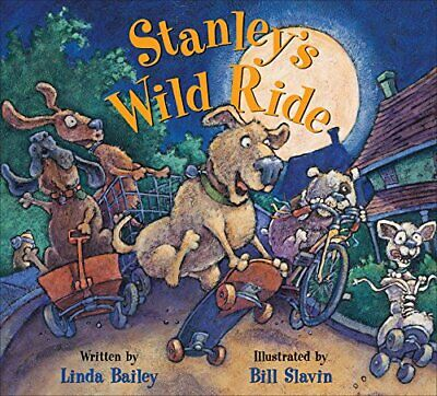 Stanleys Wild Ride by Linda Bailey Book The Cheap Fast Free Post