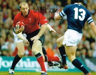2.99 Sale Gareth Thomas Welsh Rugby Legend Authentic Signed 10 X 8 Photo Coa
