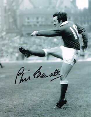 2.99 Sale Phil Bennett Welsh Rugby Legend Authentic Signed 10 X 8 Photo Coa
