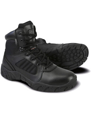 Kombat 6inch Tactical Pro-Boot Military Forces Work Outdoor Leather Army Black