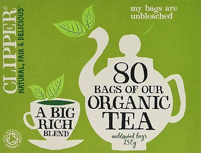 Clipper Organic Everyday Teabags 80bags 5 Pack