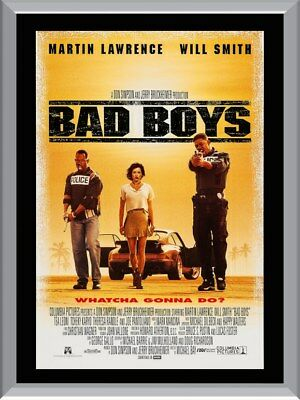 Bad Boys A1 To A4 Size Poster Prints