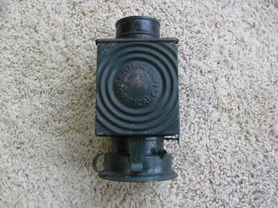 Vintage Manhattan Optical Co. Photographic Darkroom Kerosene Lantern  - c.1895