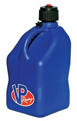 VP Racing 3533 Blue Square Gas Jerry Can Fuel Jug Off-Road Track Street