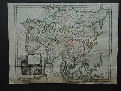 1748 LE ROUGE  Atlas map  ASIA - L'ASIE - China Coree Korea Japan Niphon Java