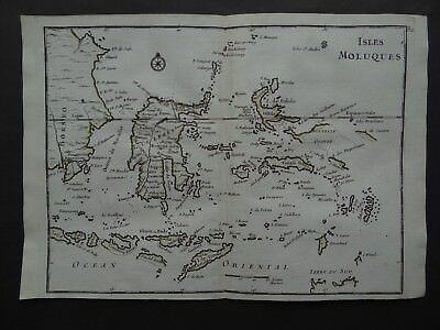 1748 LE ROUGE  Atlas map  ISLES MOLUQUES - Maluku Islands - Indonesia