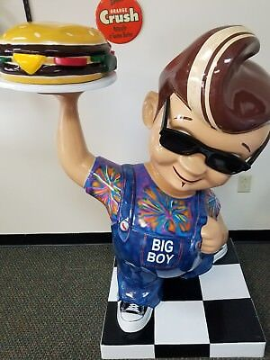 "Bob's Big Boy California kid one of a kind 55"" tall 42"" wide Super Cool!!"