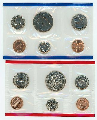 1985 Mint Set United States Uncirculated Coin Set - U.S. Mint Official