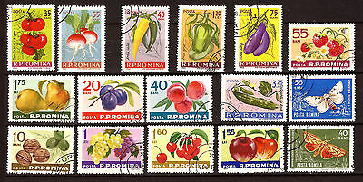 ROMANIA fruit and vegetables F95