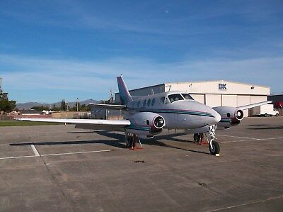 1966 Beechcraft King Air 90, Complete Airframe On Gear,perfect For Display Or ?