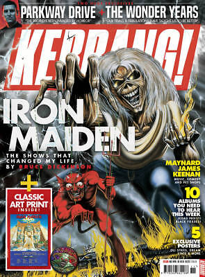 Kerrang 1713 17th March 2018 Iron Maiden Eddie cover