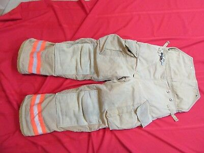 2006 CHIEFTAIN Firefighter Bunker Turnout Pants 36 x 30  thermal liner