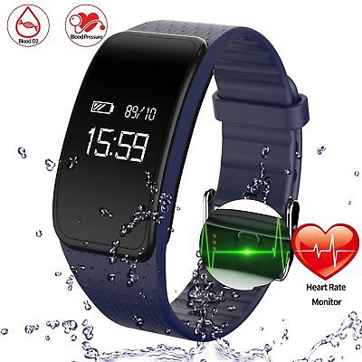 Getfitsoo Sport Fitness Tracker with Heart Rate Monitor Smart Bracelet Watch 4.0