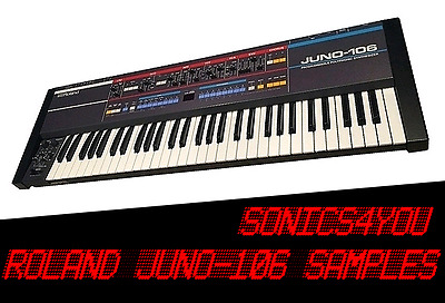 ROLAND JUNO-106 WAV Samples ♪ Original Library ♪ 80s Synth Sounds ♪ DOWNLOAD