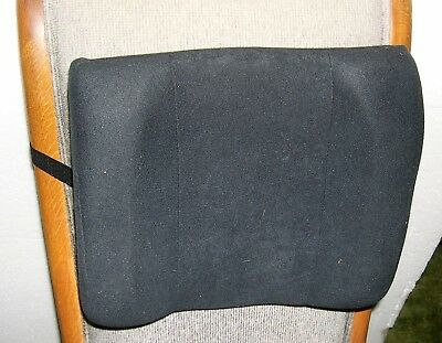 "Fellowes Backrest High Profile 13""x4""x12"" Black 91905"