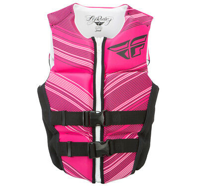 Fly Racing Womens Neoprene Life vest Black/Pink