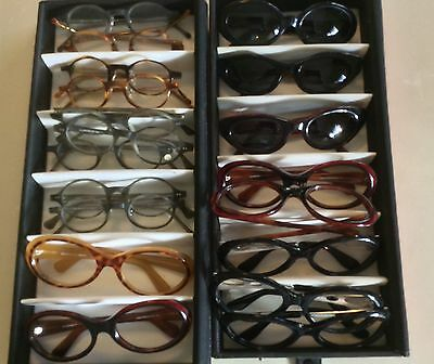 Lot of 20 Vintage New Eyeglass Frames Illusions By Ignuts Handmade In Italy