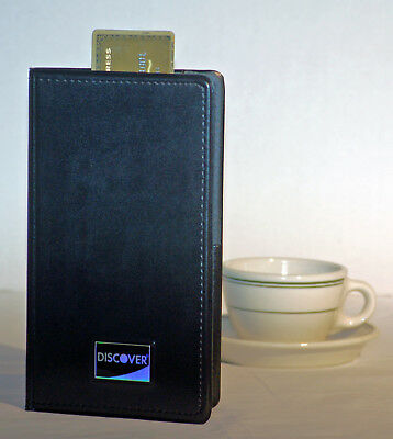Qty: 24 NEW UNUSED Discover Card Restaurant Check Card Holder Book Presenter