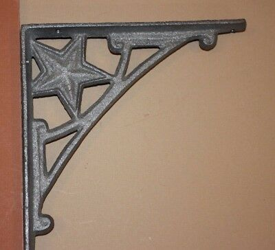 Lone Star Restaurant Decor, Texas Steakhouse Decor,Lone Star Shelf Brackets,B-13