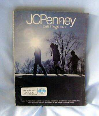 Vintage JCPenney Christmas 1977 Catalog Toys, Jewelry, Clothing, Family Owned
