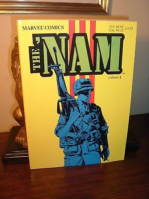 STAN LEE Volume 1 THE 'NAM (Vietnam) Thick comic/graphic novel -NICE!  FREE SH