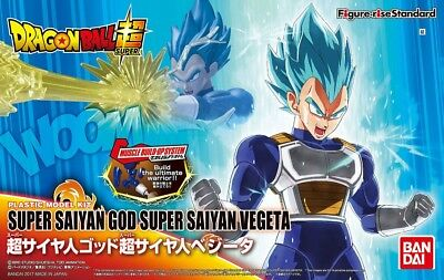 Figure Rise Standard Dragonball Super Saiyan God Vegeta model kit Bandai