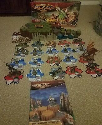 Heroscape The Battle Of All Time huge lot of figures, pieces, dice and terrain