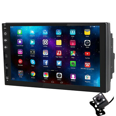 """Android 8.1 2DIN 7"""" Car NO-DVD Player Radio BT Stereo Wifi GPS Navigation System"""