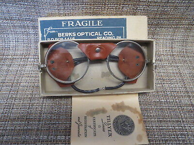 Vintage Steampunk  Safety Glasses Motorcycle Goggles