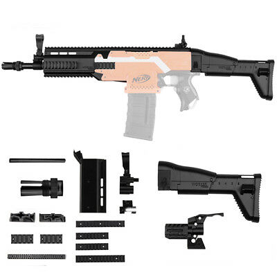 WORKER MOD STF-W003 FN SCAR Imitation Kit For Nerf Replacement Accessory Toy