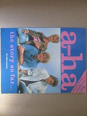 A-ha: the Story So Far by Marcussen, Tor Paperback Book The Cheap Fast Free Post