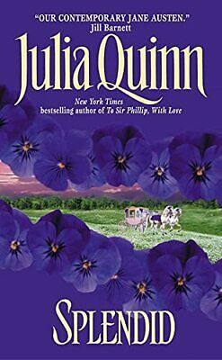 Splendid (Blydon) by Quinn, Julia Paperback Book The Cheap Fast Free Post